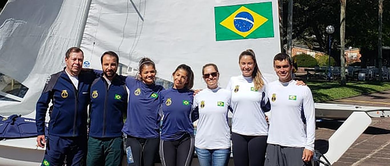Equipe do Veleiros do Sul representará o Brasil nos 7º Jogos Mundiais Militares